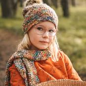 Barts sjaal Hazele orange