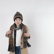 Barts meisjes sjaal Nicole navy