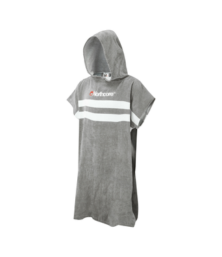Northcore Northcore Beach Basha Changing Robe - Grey Stripes