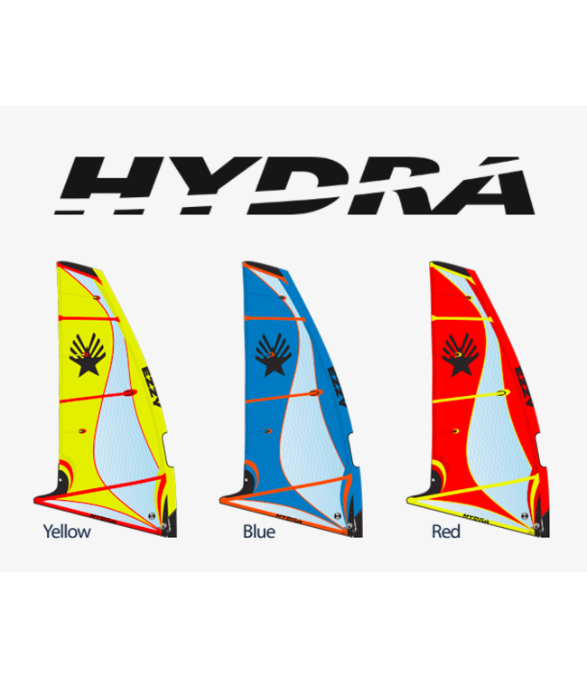 Ezzy Sails Ezzy Hydra Red/Blue Foil -  Demo