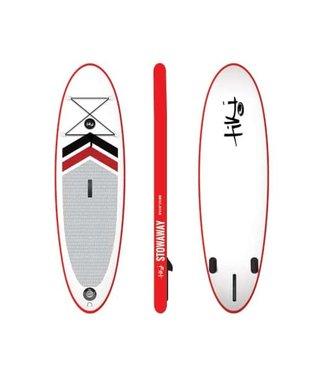 Tiki Tiki Stowaway 10'6'' x 32'' Inflatable SUP Package + Paddle