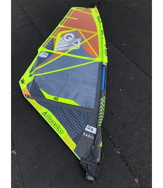 GA Sails GA-Sails IQ 2018 Yellow/Blue Ex Demo