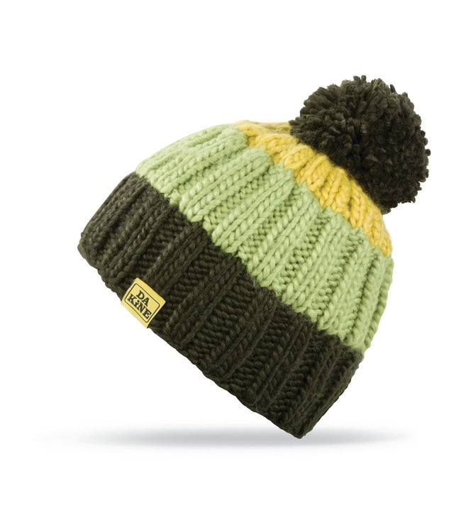 Da Kine Da Kine Farley Bobble Hat - Jungle/Dark Citron
