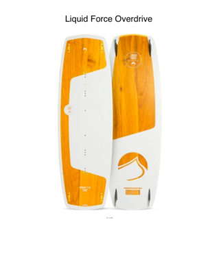Liquid Force Liquid Force OverDrive '19 (Kiteboard) 148 X 45.5 cm