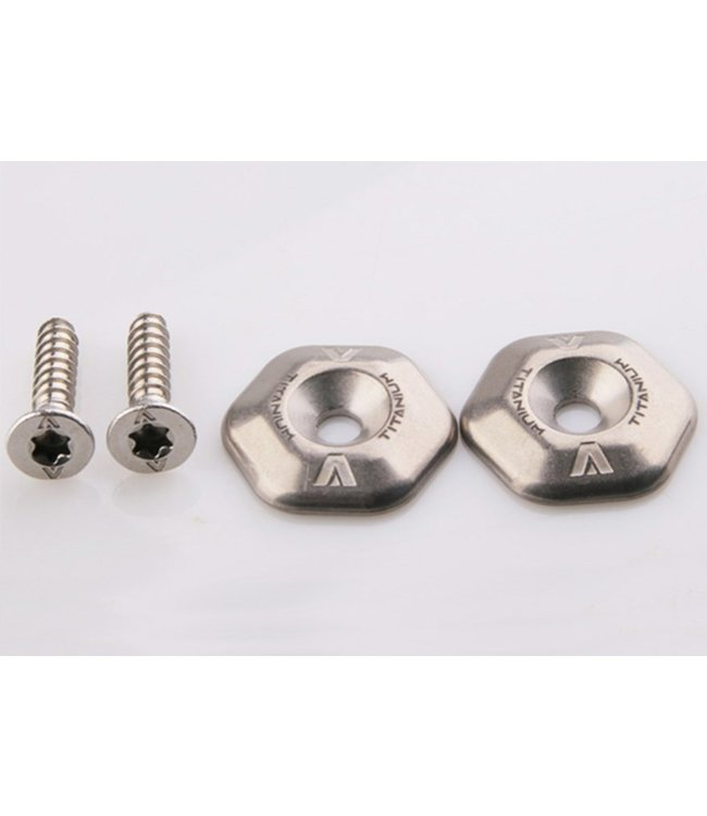 Armstrong Armstrong Titanium washers, 316L foot strap screws