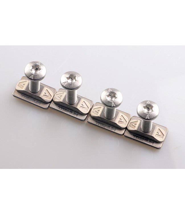 Armstrong Armstrong Titanium T Nuts with 316L Screw Set