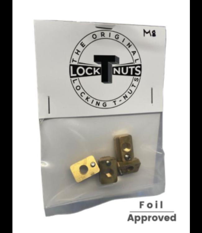 Locknut LOCKING T-NUT SET M8