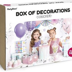 Unicorn kinderfeestje pakket