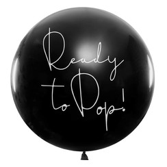 Gender Reveal ballon - Ready to pop -  jongen