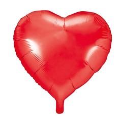 Hartenballon folie | Rood | 45 cm