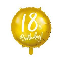 Folieballon 18th birthday | 18 jaar