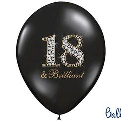 Ballonnen 18 & Brilliant