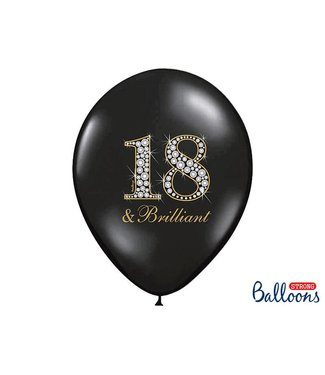 PartyDeco Ballonnen 18 & Brilliant