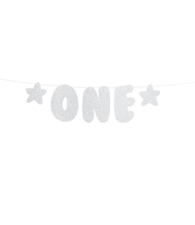 PartyDeco Slinger - One - zilver
