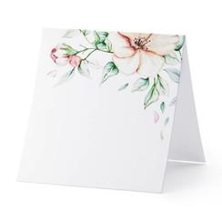 Plaatsnaam kaartjes 'Floral' | 10 stuks