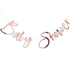 Babyshower slinger rose goud