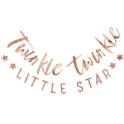 Twinkle twinkle little star - slinger rose goud