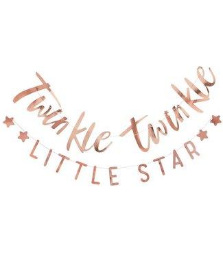 Ginger Ray Twinkle twinkle little star - slinger rose goud
