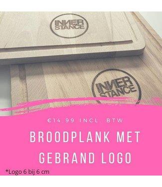 Feestdeco Broodplank met gegraveerd logo
