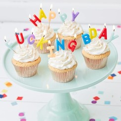 Happy fucking bday - verjaardagskaarsjes