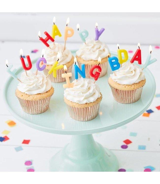 Ginger Ray Happy fucking bday - verjaardagskaarsjes