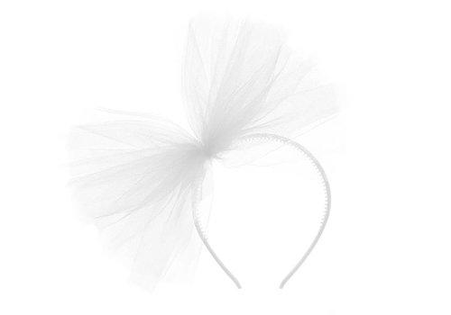 PartyDeco Tule haarband XL