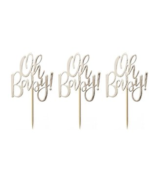 Ginger Ray Oh baby - cupcaketoppers