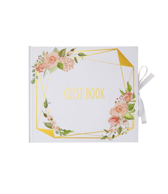 Feestdeco Gastenboek Floral