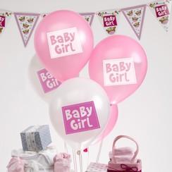 Baby girl - ballonnen