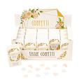 Feestdeco Biologisch afbreekbare bruiloft confetti - Floral