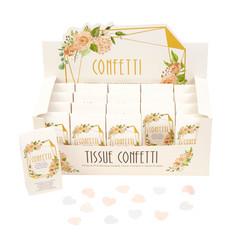 Biologisch afbreekbare bruiloft confetti - Floral