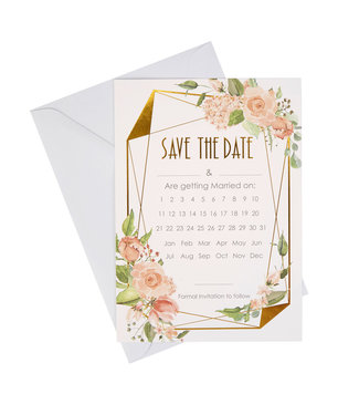 Feestdeco Save the date kaarten