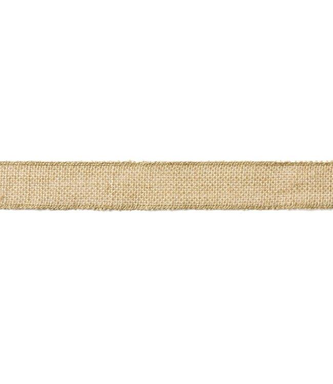PartyDeco Jute lint 4cm breed - 5 meter lang