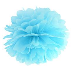 Pompom lichtblauw 25cm