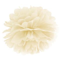 Pompom creme/ivoor 25 cm