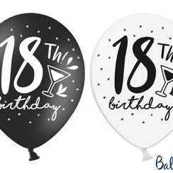 Ballonnen 18th birthday