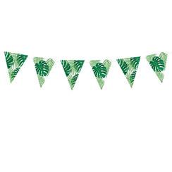 Tropical leaves vlaggenlijn DIY - 1,3 meter