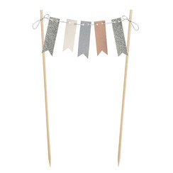 Taarttopper slinger - bunting garland