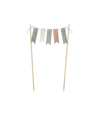 PartyDeco Taarttopper slinger - bunting garland