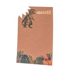 Uitnodiging Dinosaurus - 8 stuks