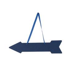 Wegwijzer pijlen blauw