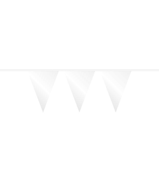 Globos Vlaggenlijn wit - 10 meter