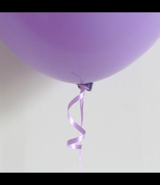 Ballonnen snelsluiters 100 stuks - paars