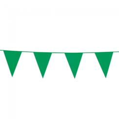 Vlaggenlijn groen - 10 meter