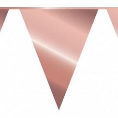 Vlaggenlijn rose goud - 10 meter