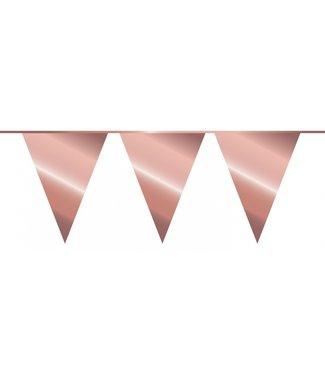 Haza Vlaggenlijn rose goud - 10 meter