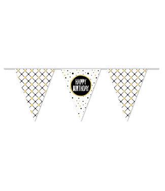 Haza Vlaggenlijn Happy Birthday - 10 meter