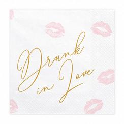 Servetten Drunk in love
