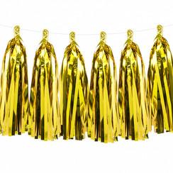 Tassel slinger goud | 1,5 meter