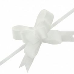 Strikjes wit 3 cm | 25 stuks